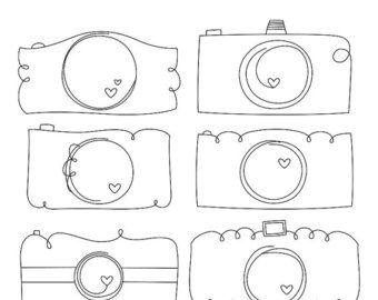 Camera clipart doodle. Whimsy doodles cameras digital