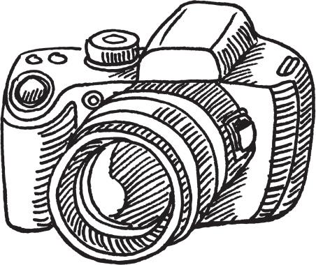 Camera clipart drawn. Free drawing cliparts download