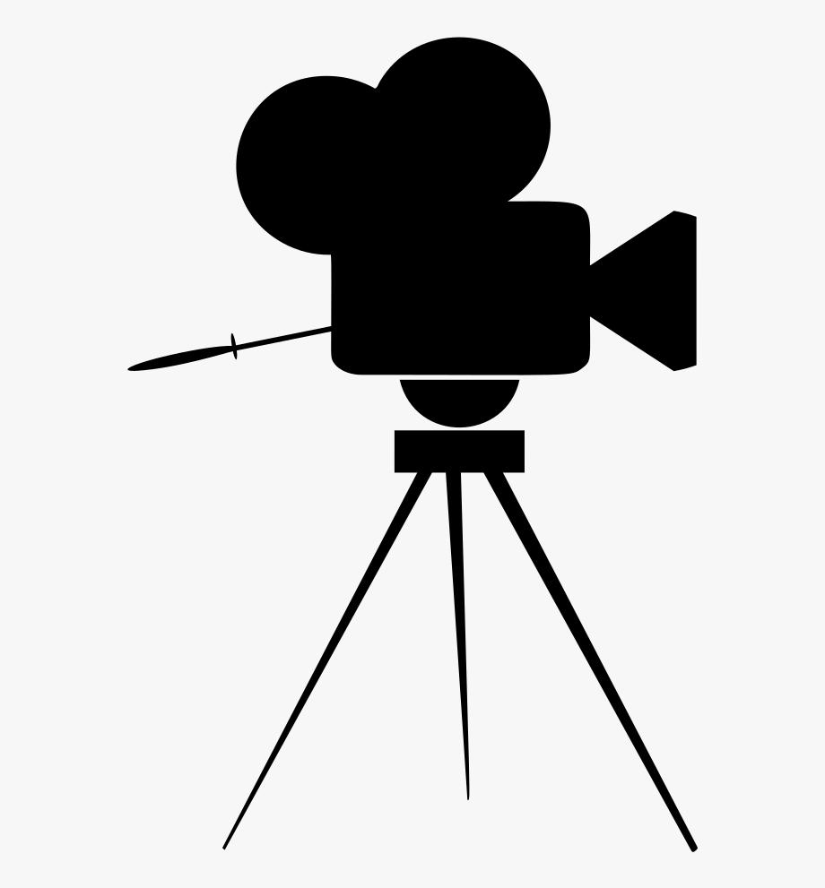 Movie icon free . Film clipart vintage film camera