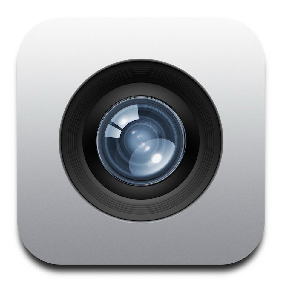 Icons png vector free. Camera clipart iphone