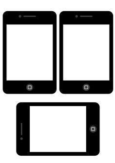 Camera clipart iphone. Template pinteres free frames