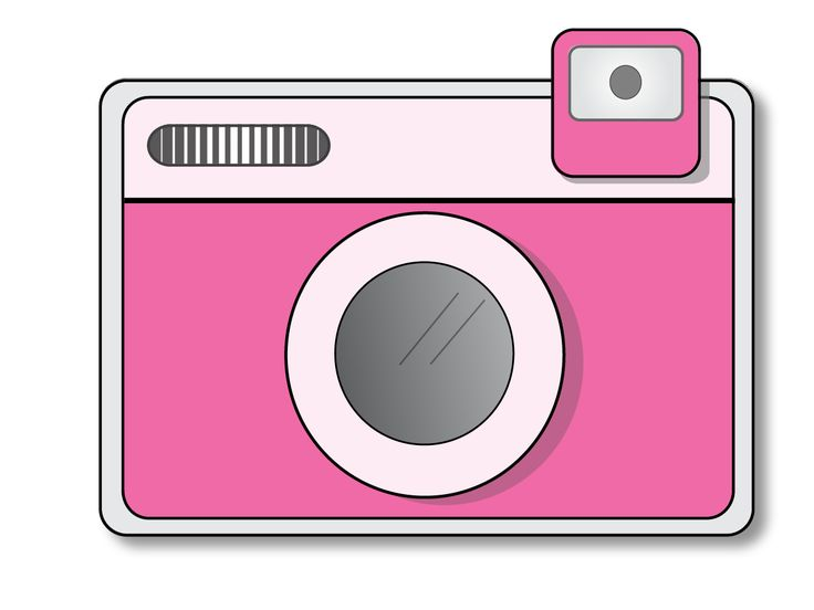 Camera kawaii. Clipart transparent free for