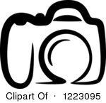 . Camera clipart logo