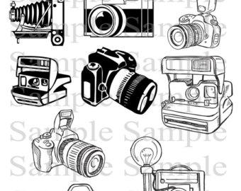 Camera clipart logo. Clip art photography elements