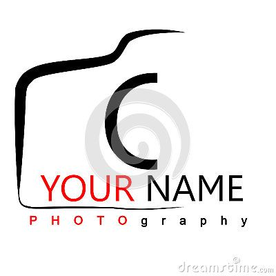 Photography logo on white. Focus clipart self identity