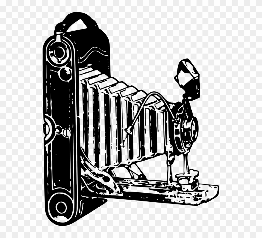 Camera clipart old fashioned. Yeah they used to