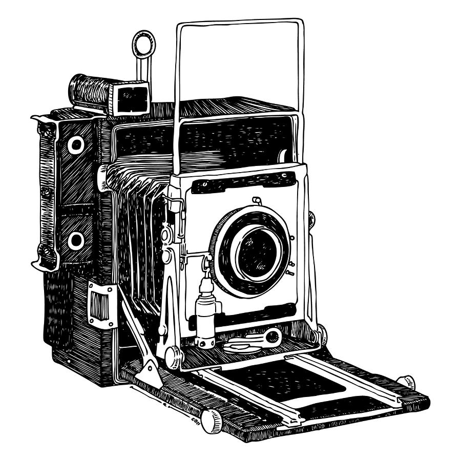 Camera clipart old time.  collection of vintage