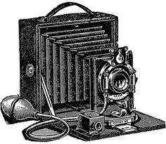 Camera clipart old time.  collection of fashioned