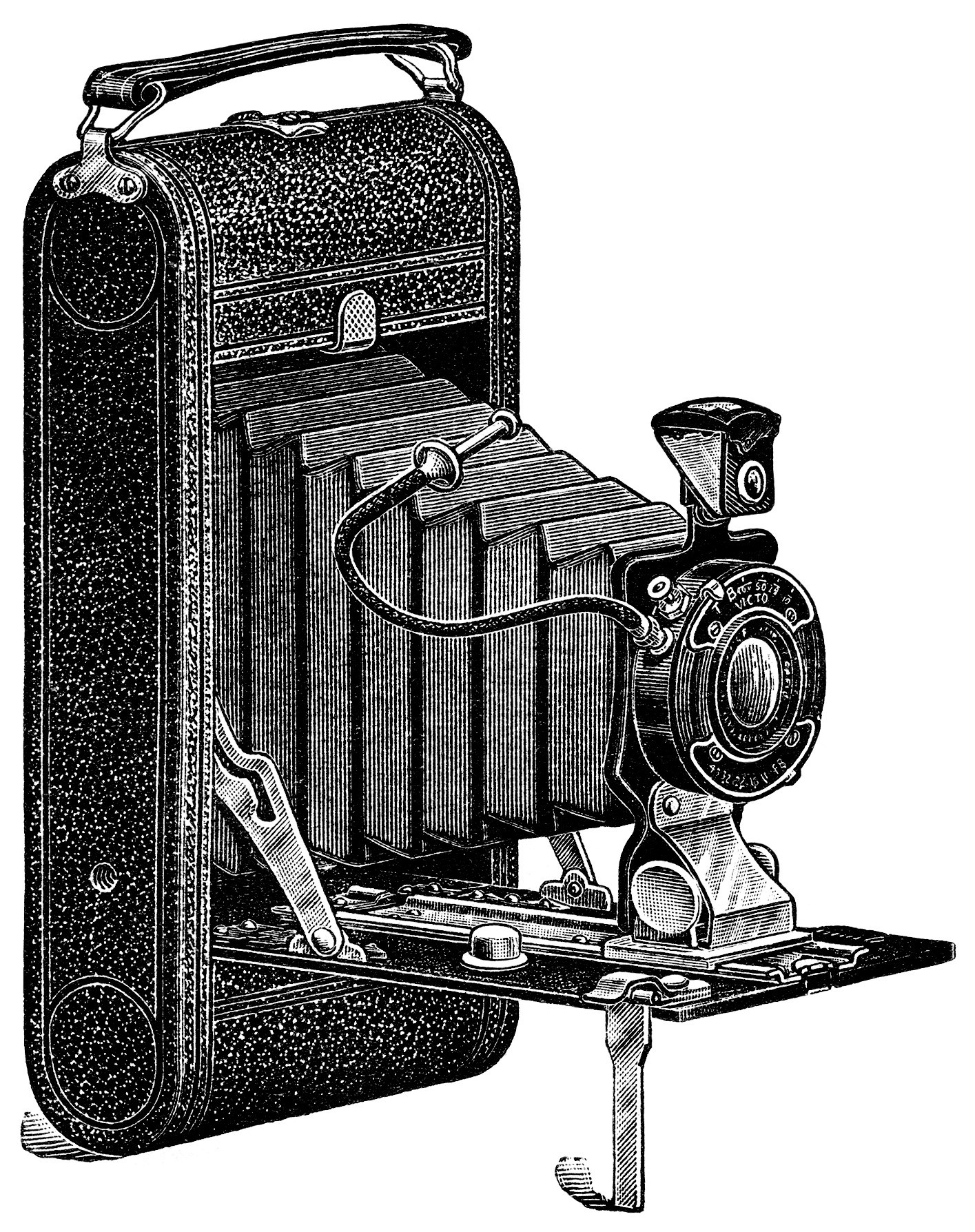 Free vintage cliparts download. Camera clipart old time