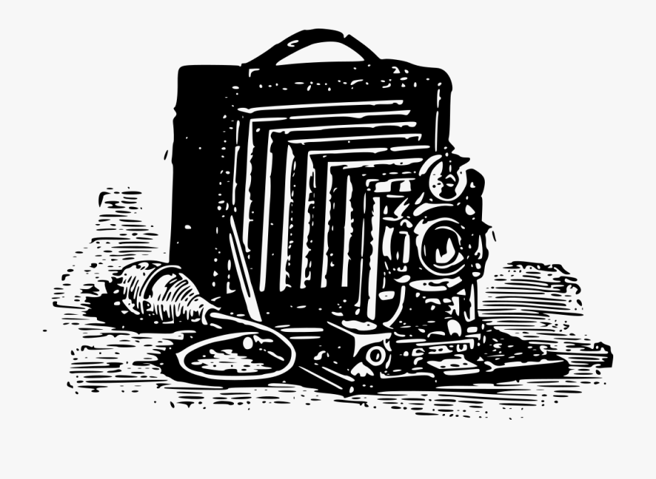 Camera clipart old time. Fashioned svg free