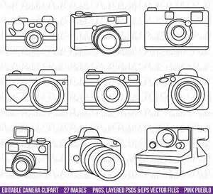 Clip art bing images. Clipart camera outline