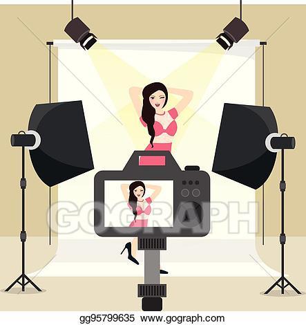 Clip art vector in. Camera clipart photo session