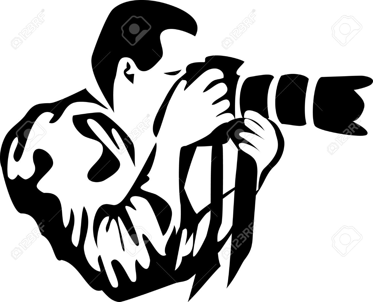 Black and white free. Camera clipart photo session