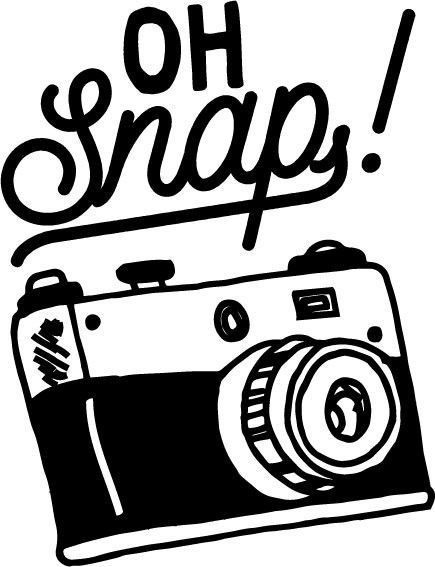 Oh snap cute and. Camera clipart photographer
