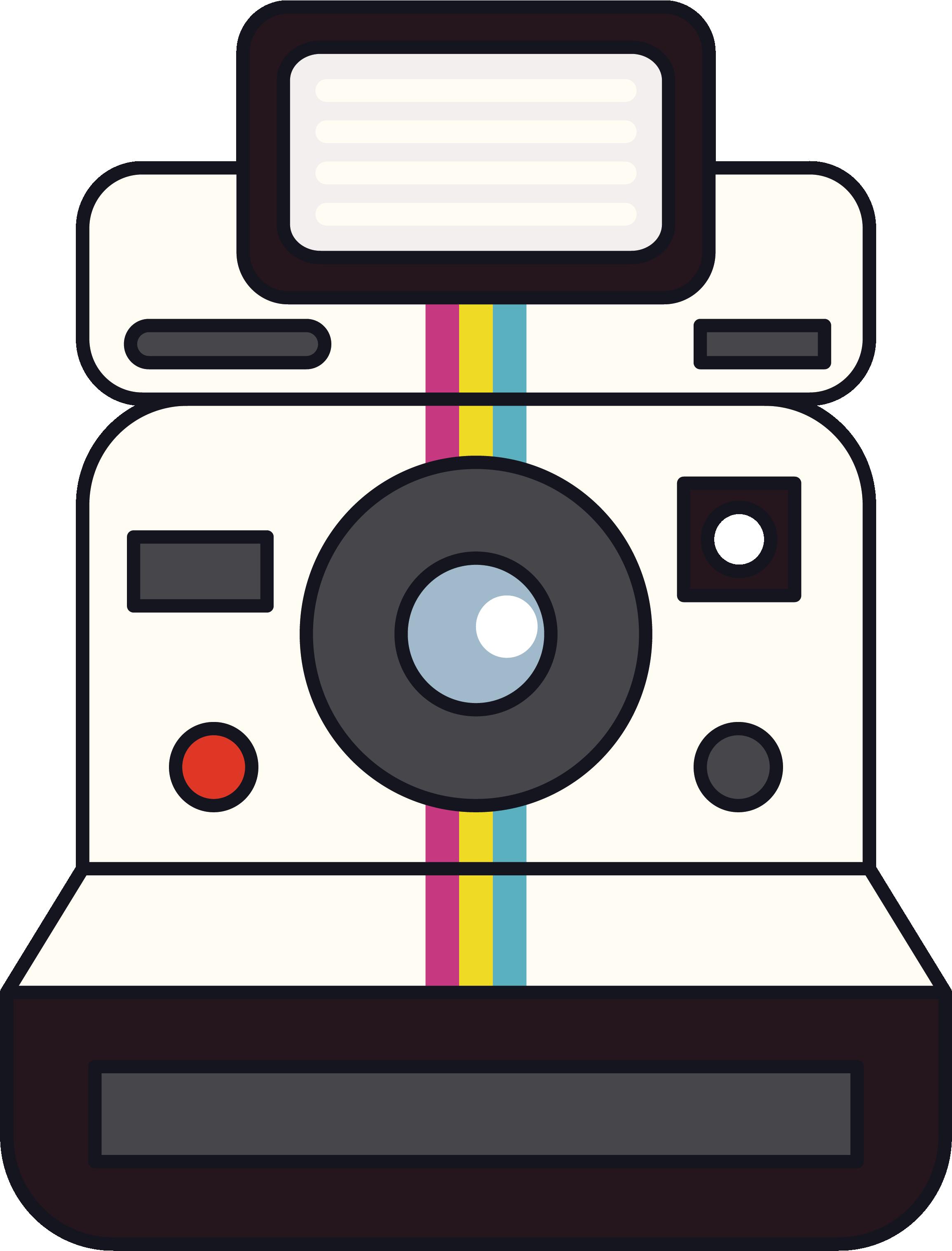 Electronics clipart tech. Instant camera polaroid corporation
