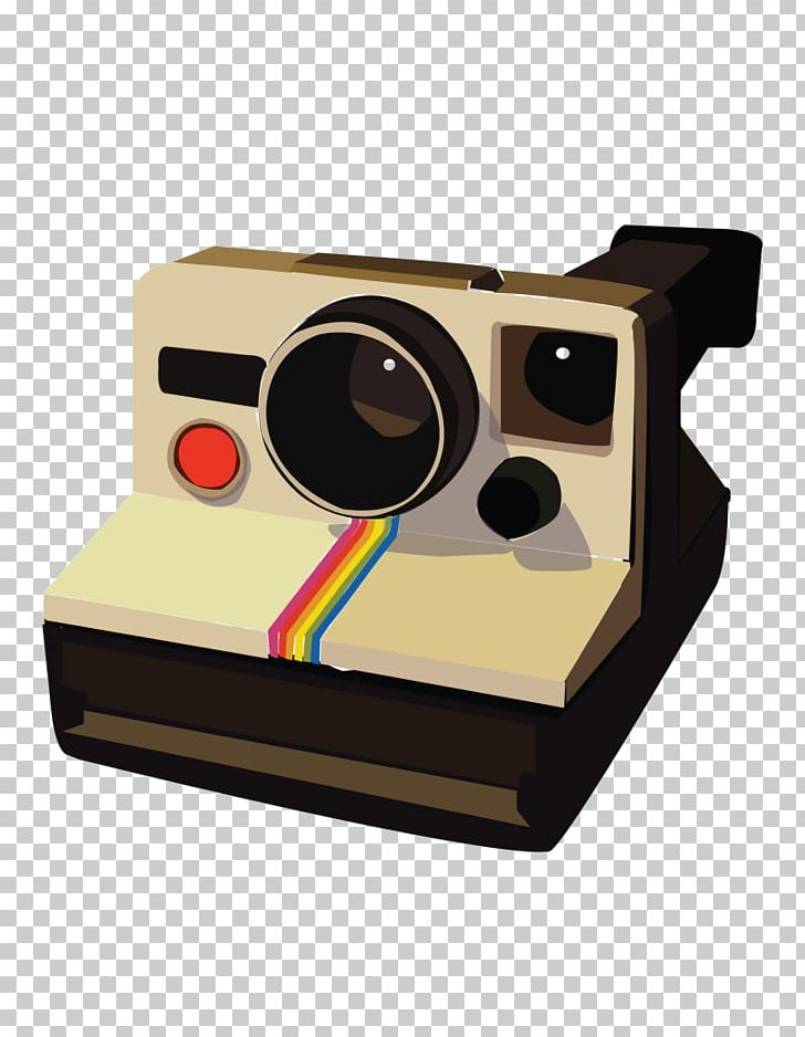 Camera clipart polaroid camera. Sx instant corporation png