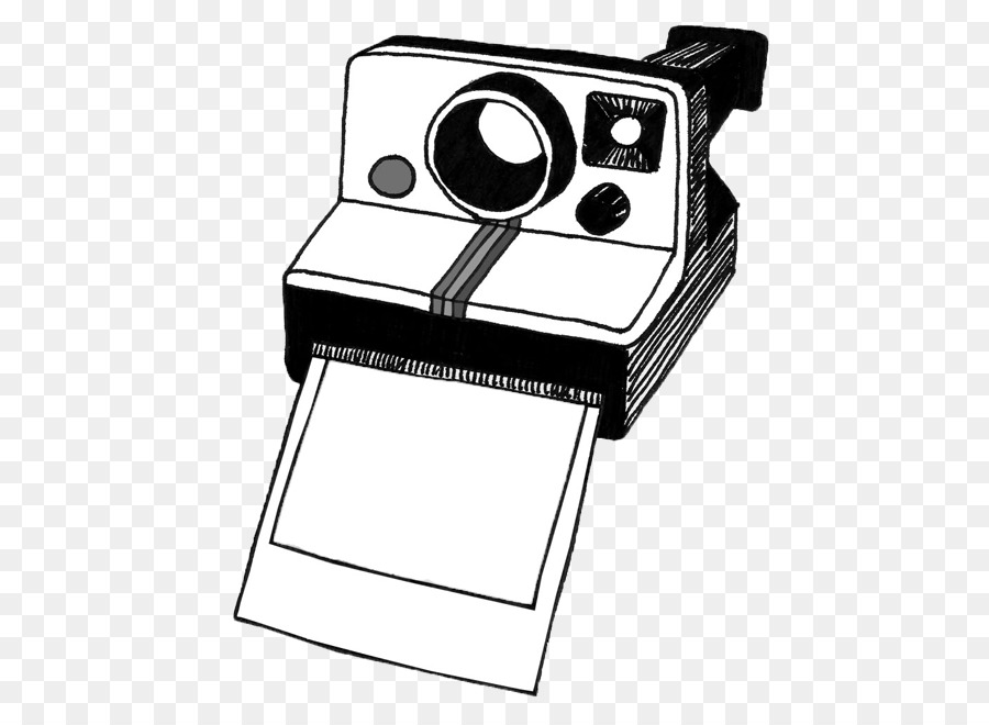 Instant printing clip art. Camera clipart polaroid camera