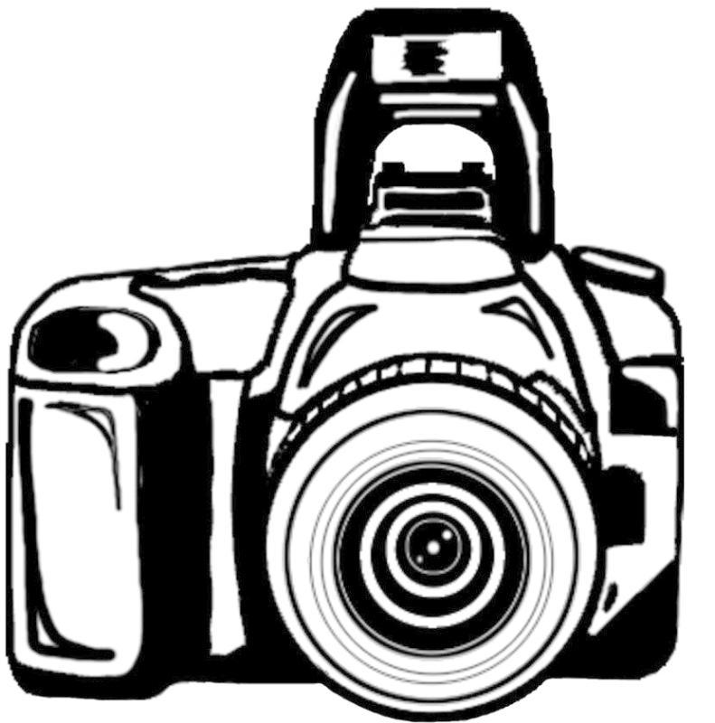 Dslr drawing at getdrawings. Clipart camera