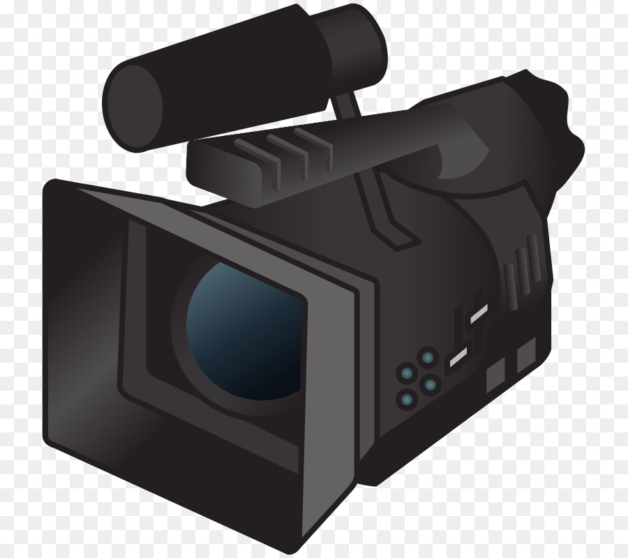 Cartoon product transparent . Video clipart video camera