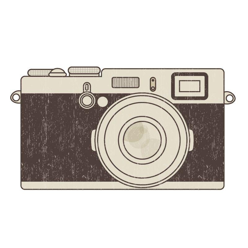 Camera clip art retro camera. Free vintage images photo