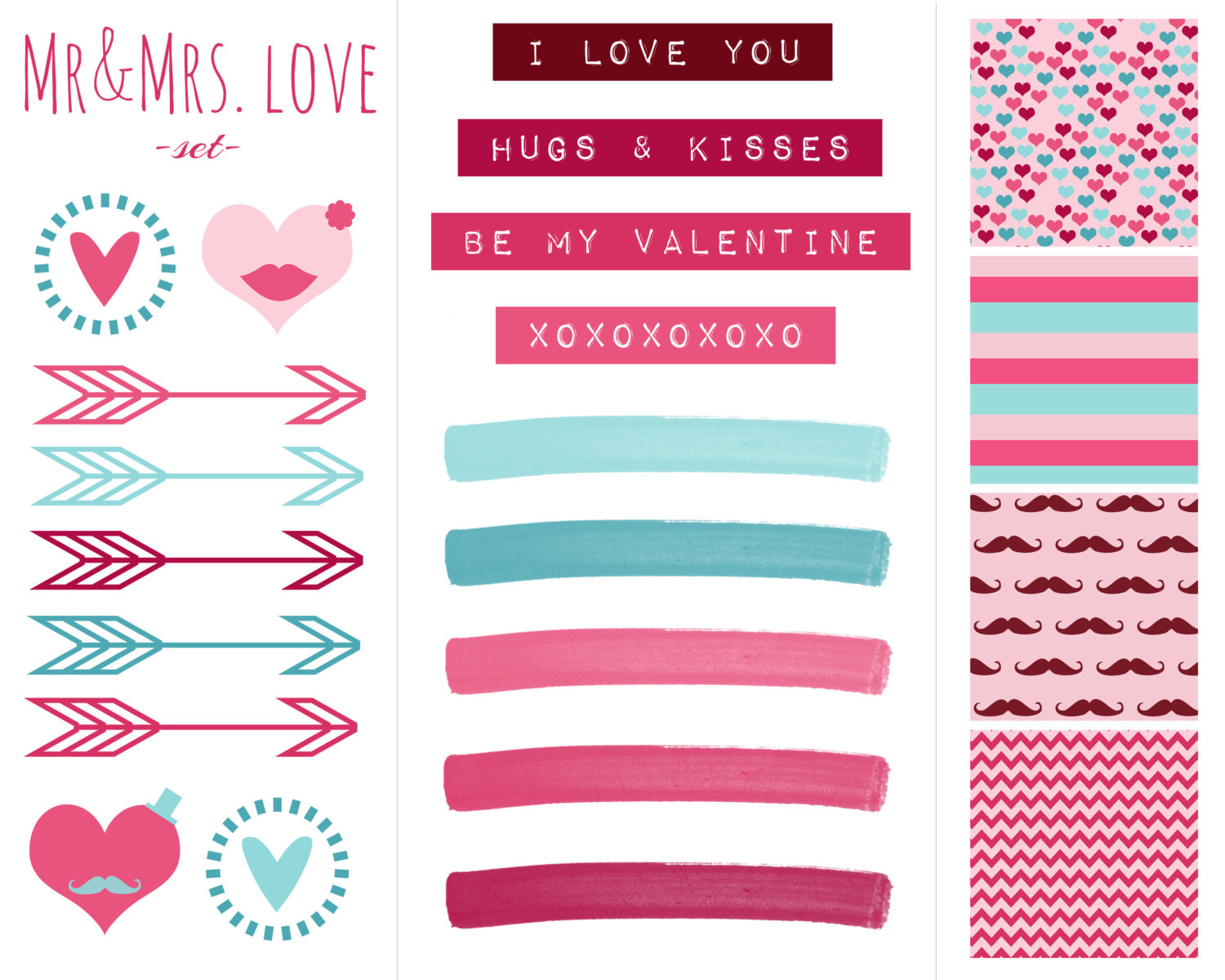 Scrapbook clipart printable. Day