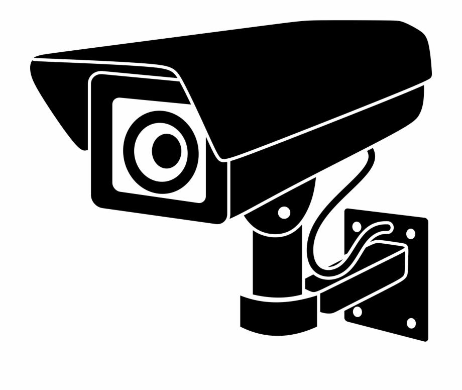 Camera clipart security camera. Big image png surveillance