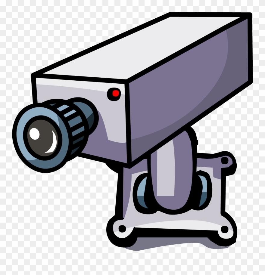 pixels club penguin. Camera clipart security camera