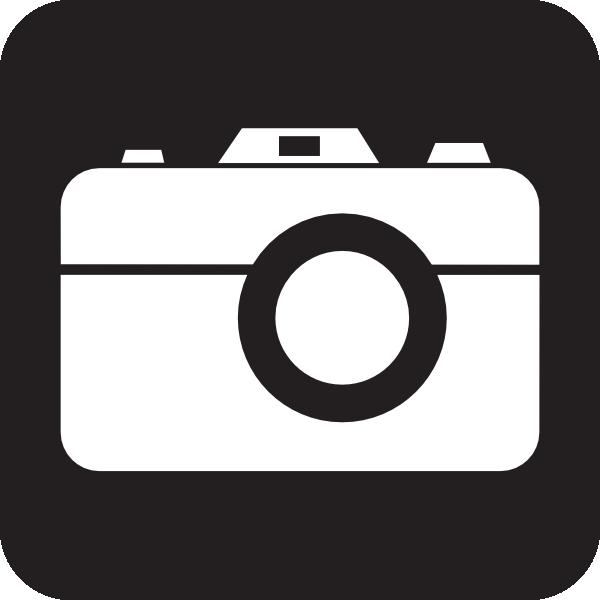 Camera clipart simple. Black clip art at
