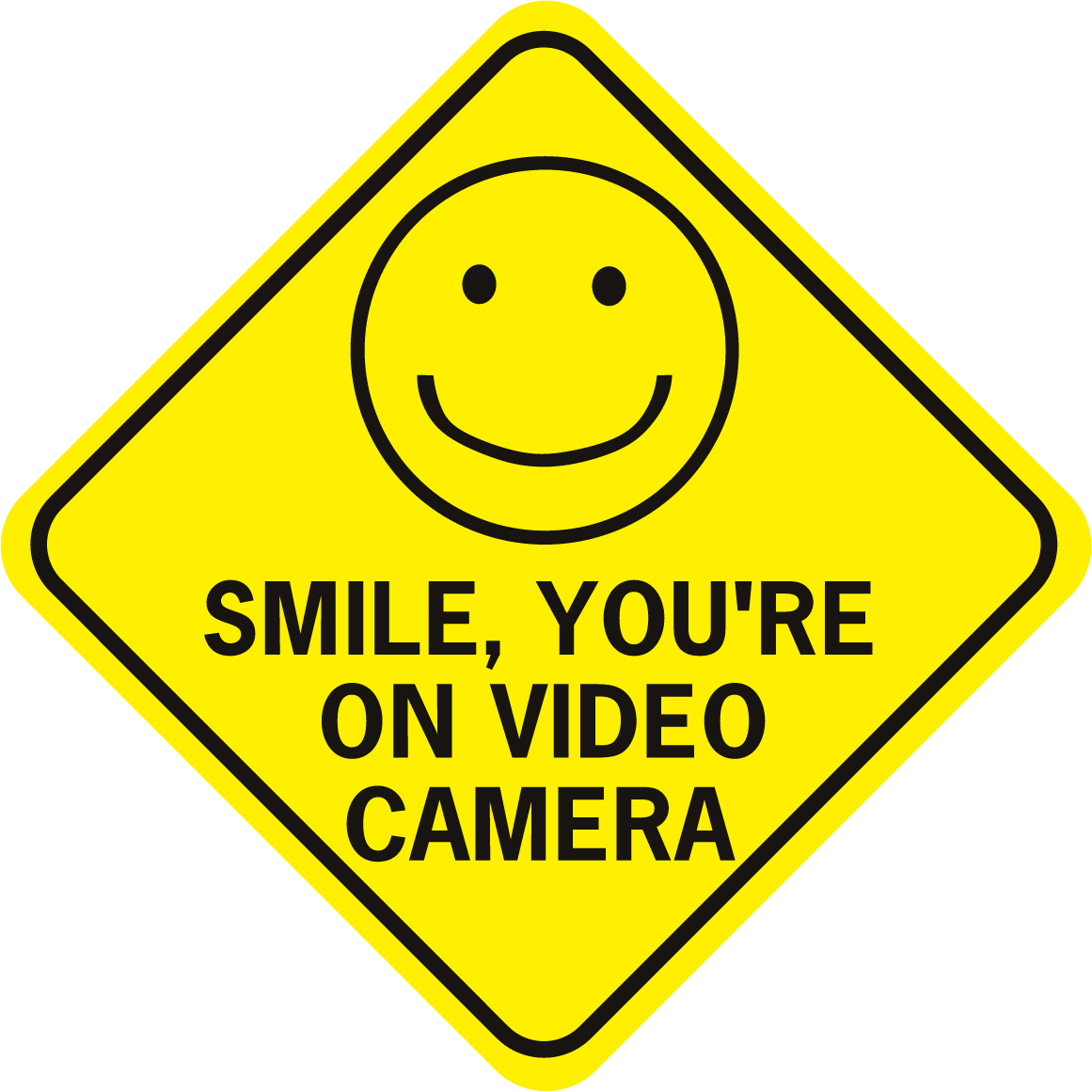 Smile you re on. Camera clipart smiley face