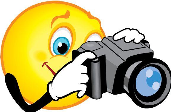Camera clipart smiley face. School picture retakes tccs