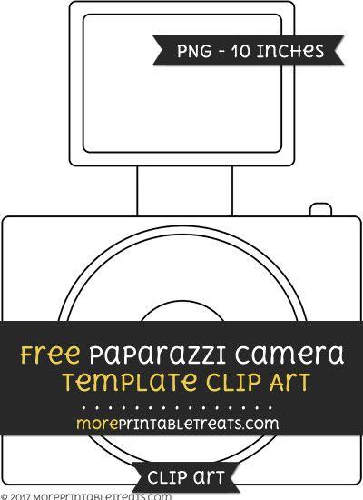 Camera clipart template. Free paparazzi files