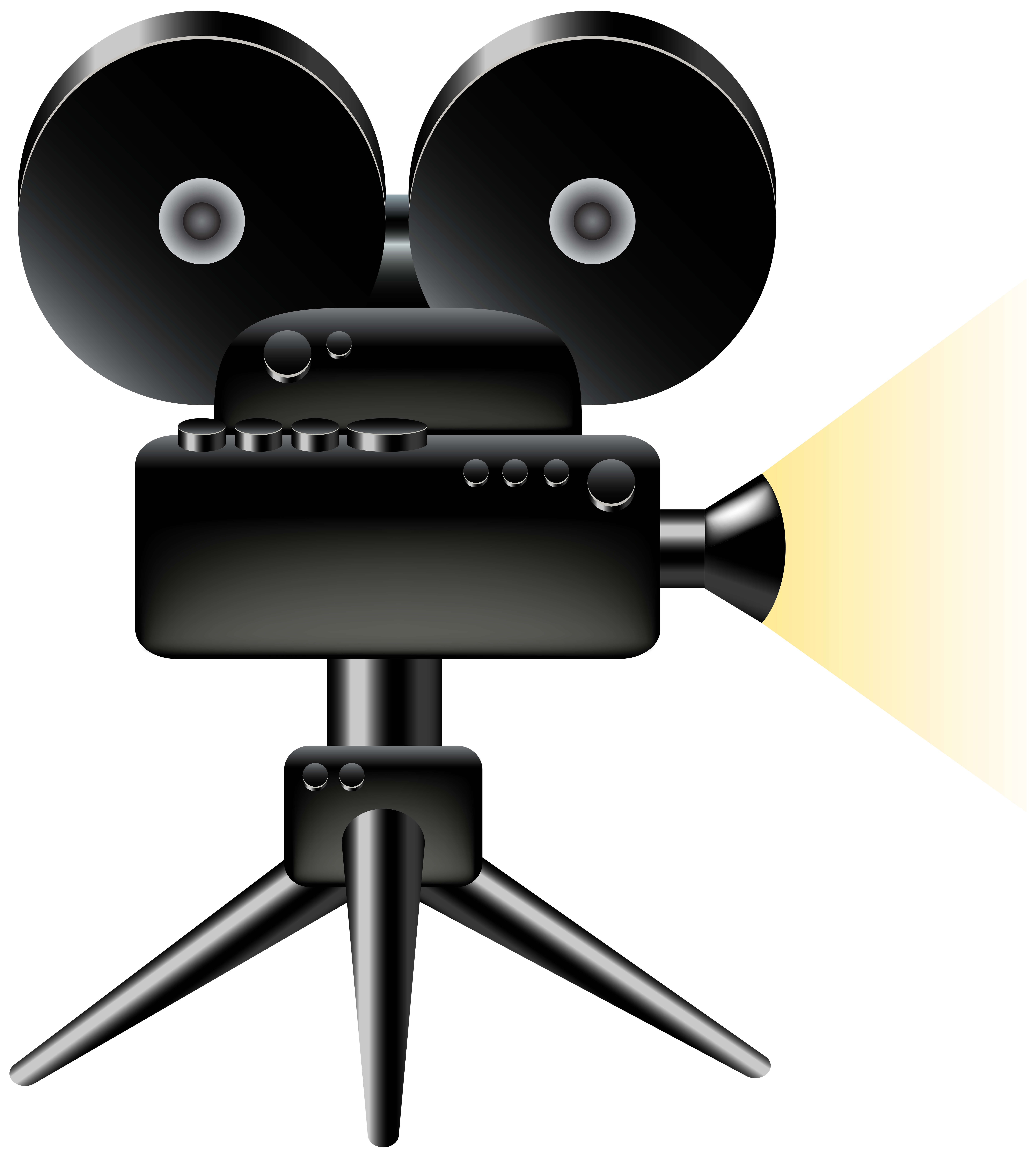Camera clipart transparent background. Cine png clip art