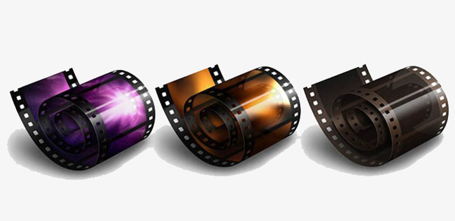 Camera clipart vector. Roll film footage png
