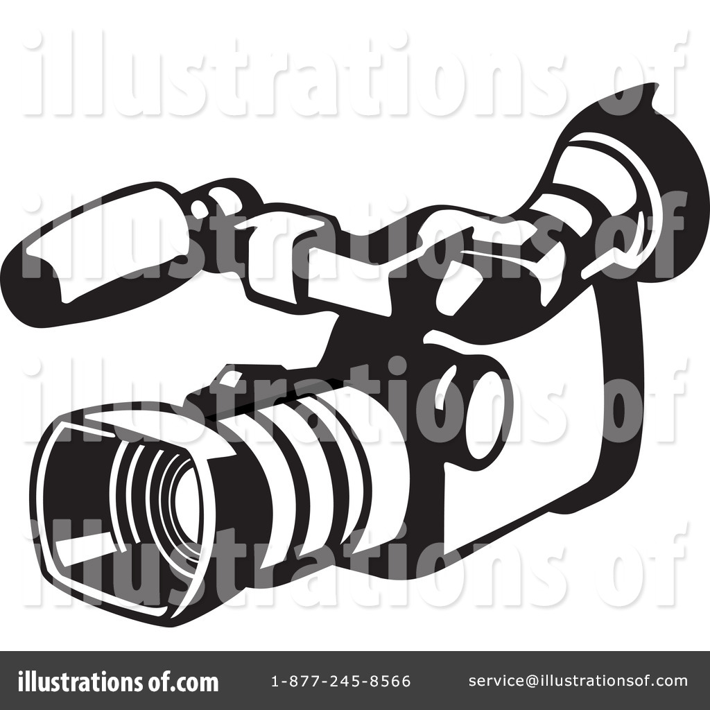 Illustration by patrimonio royaltyfree. Camera clipart video camera