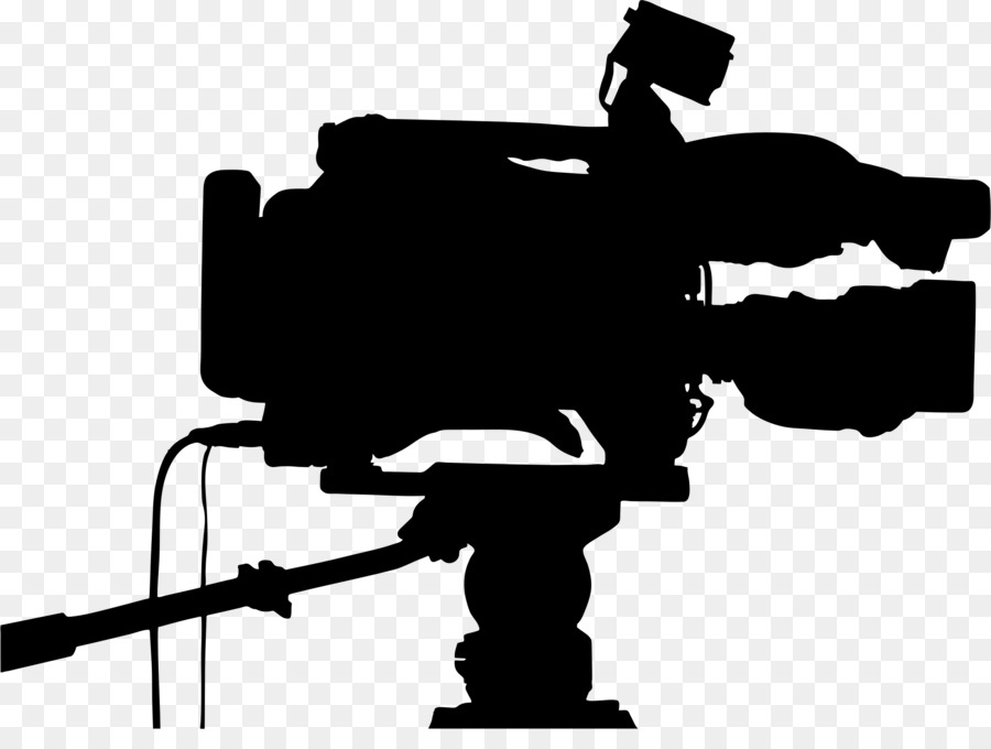 Silhouette clip art tv. Camera clipart video camera