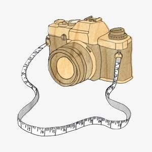 Camera clipart vintage camera. Clip art digital product