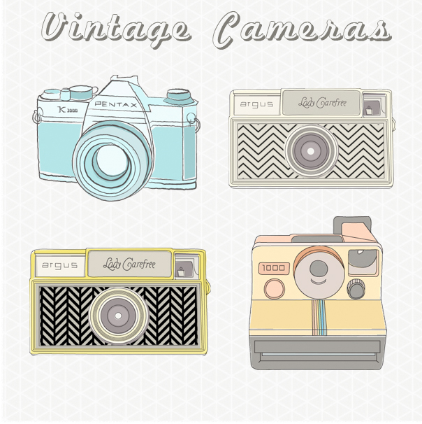 Camera clipart vintage camera. Images clip art untitled