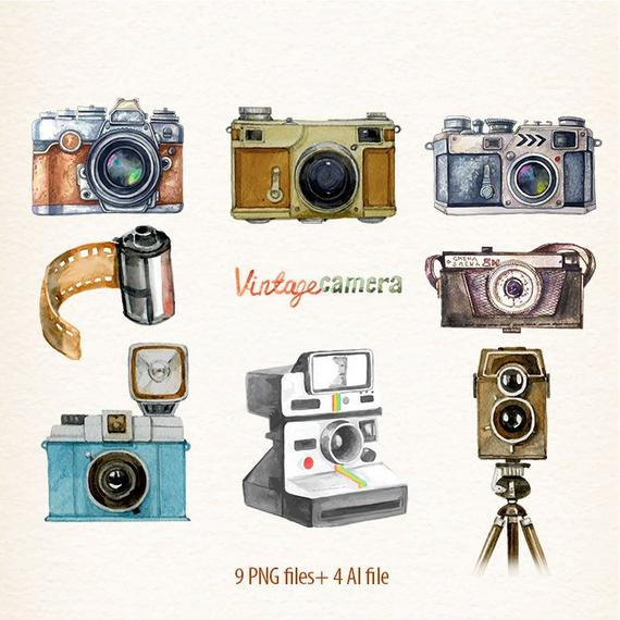 camera clipart vintage camera