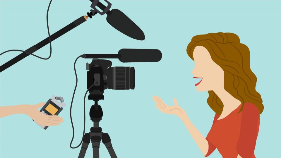 Vlogging the basics of. Camera clipart vlog