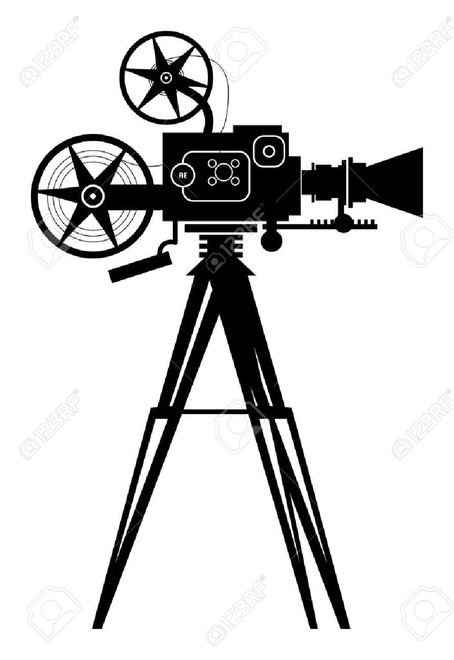 Video cinema free on. Camera clipart vlog