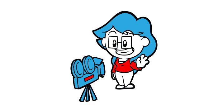 Author vlogging can get. Camera clipart vlog