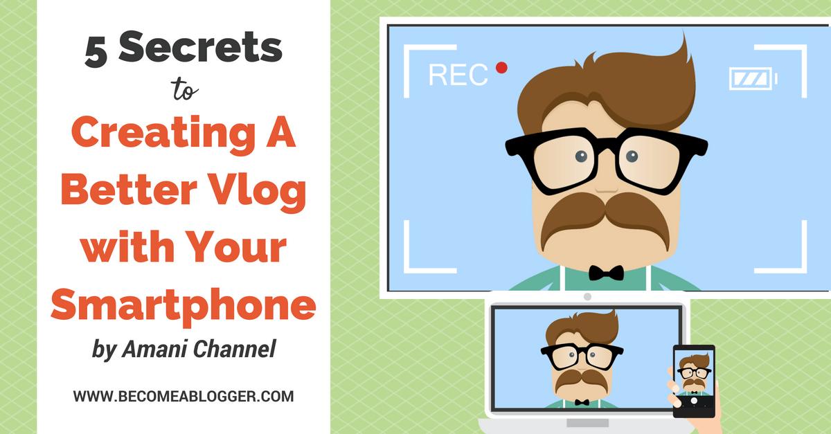 secrets to creating. Camera clipart vlog