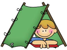 Camp clipart. Family camping free buy