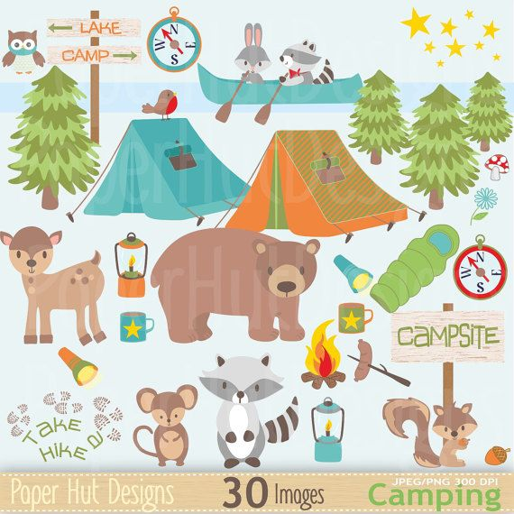 best images on. Camp clipart animal
