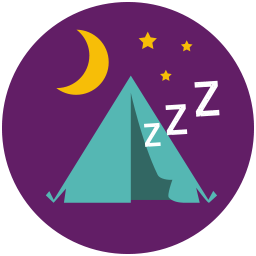 Brand badges icon png. Camp clipart badge