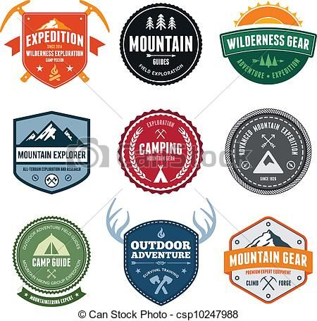 Camp clipart badge.  best camporee t
