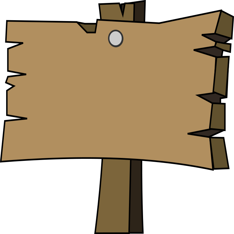 Newsletter clipart chronicle. Wood signal camp free