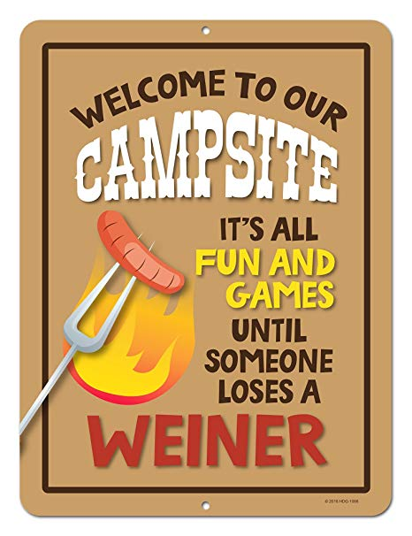Honey dew gifts funny. Camp clipart camp sign