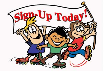 Summer registration open acsw. Camp clipart camp sign