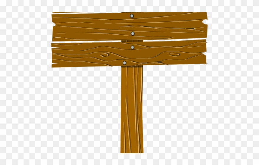 Wood keep out signs. Camp clipart camp sign